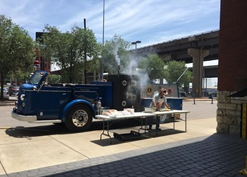 1957 Fire Truck, Old Blueprint Mission, Is Now a Nonprofit Food Truck