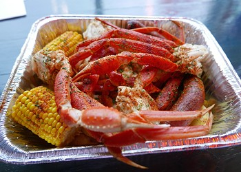 Krab Kingz Seafood Brings Shellfish, Dripping with Butter, to St. Louis' West End