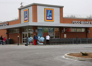 Aldi Will Soon Have Home Delivery Service, So You'll Never Need to Put on Pants Again