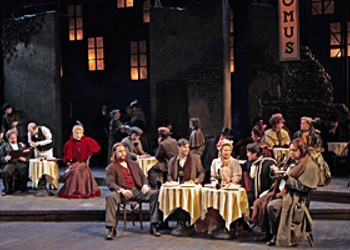 Boh&egrave;mian Rhapsody: Opera Theatre rings in 2009 with a spirited <i>La Boh&egrave;me</i>