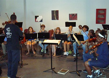 The Lemp Neighborhood Arts Center's Orchestrating Diversity program hits the right notes