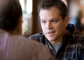 Hard Sell: For Matt Damon and company, the message is the message in <I>Promised Land</I>