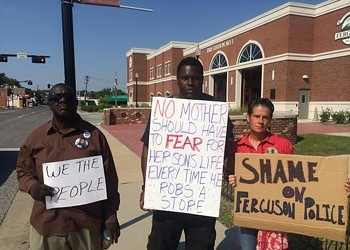 Ferguson Protester's Photo Gets Edited Into Racist Meme, Goes Viral