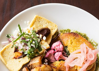 Brunch at Tree House: Vibrant Vegetarian and Vegan Plates, Cocktails and Doughnuts