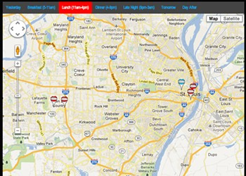 [UPDATED] On the Map: National Food Truck-Tracking Site and App to Add St. Louis This Week