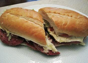 #83: Hot Salami (Salam de Testa) at Gioia's Deli
