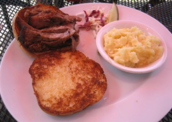 A Brisket Afternoon at The Shaved Duck