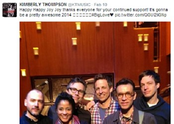 St. Louis' Kim Thompson to Play Drums with Fred Armisen in NBC's New <i>Late Night</i> Band