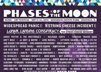 The Best and Worst of the Inaugural Phases of the Moon Music and Arts Festival