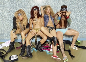 """""""Once People Start Giving You Free Shit You Have to Start Doing Things For Them."""" Steel Panther on Promotion and Ball Exposure"""