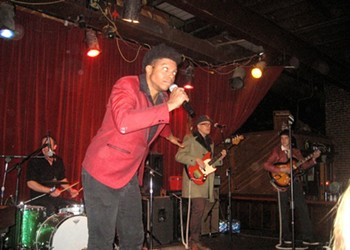 JC Brooks & the Uptown Sound at Off Broadway, 12/10/11: Review and Photos