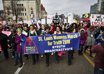 Women's March Returns to St. Louis Next Weekend