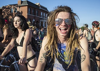 The World Naked Bike Ride Will Return to St. Louis on July 20