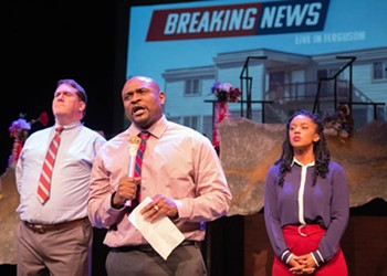 In <i>Canfield Drive</i>, the Black Rep Tackles Ferguson -- and Crafts Enthralling Theater