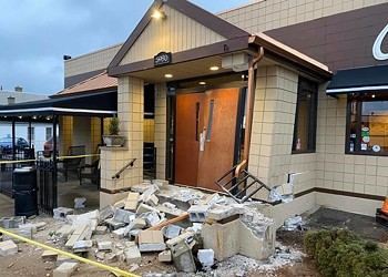 Chris' Pancake Closed After Car Hits Building on National Pancake Day