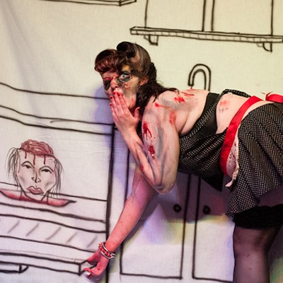 Zombie Pinup Contest at the Crack Fox (NSFW)