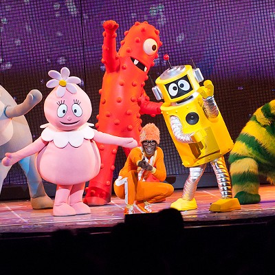 Yo Gabba Gabba! at the Fox