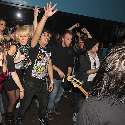 Music Video Shoot at the OZ on September 30, 2011