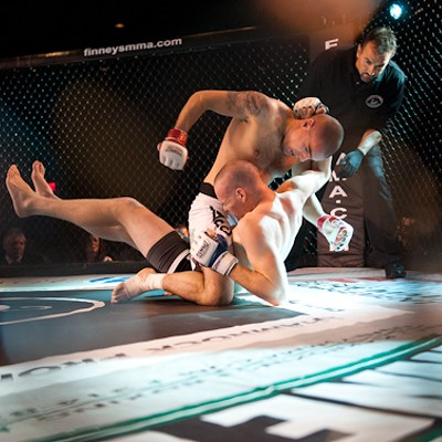 MMA Fight Night at Lumiere
