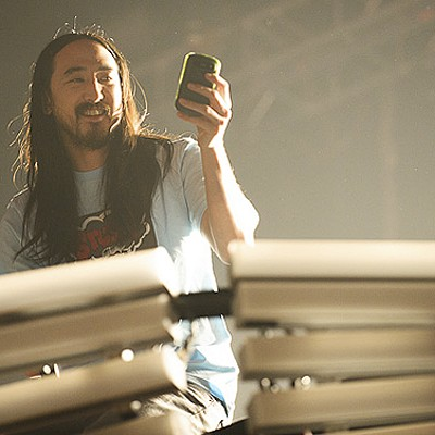 Steve Aoki at the Pageant