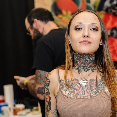 Face Tats Explained at Old School Tattoo Expo