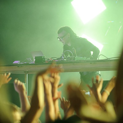 Skrillex at the Pageant