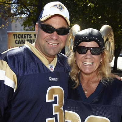 Rams Season Opener Tailgate Party