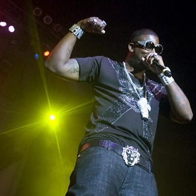Drake and Gucci Mane at Super Jam 3, 6/12/10
