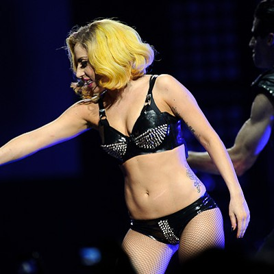 Lady Gaga and Semi Precious Weapons at the Scottrade Center, 7/17/2010