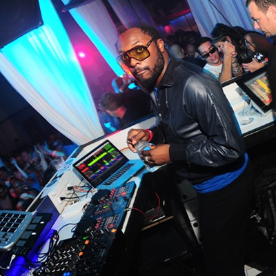 Will.I.Am DJ Set at Lure Nightclub, 8/14/10