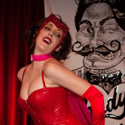 Comic Book Burlesque at Off Broadway