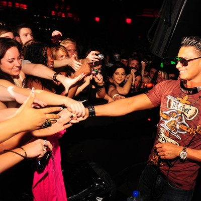 Pauly D of <I>Jersey Shore</i> at Home Nightclub