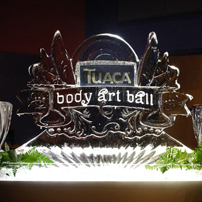 Tuaca Body Art Ball at the Pageant