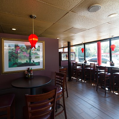 Inside Mi Linh in Rock Hill