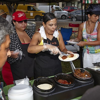 Food of the Greater St. Louis Hispanic Festival