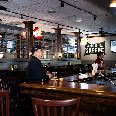 Inside J Greene's Pub
