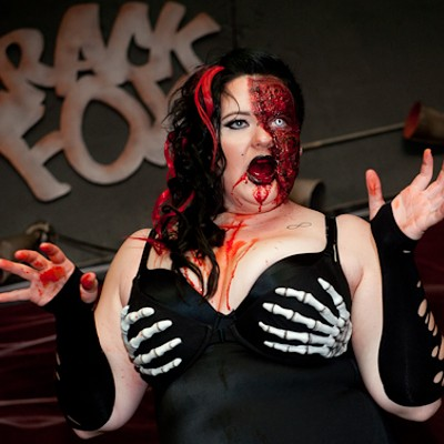 The 2013 Zombie Pinup Contest at the Crack Fox
