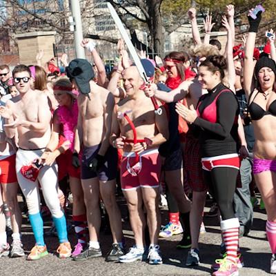 2013 Cupid's Undie Run in St. Louis