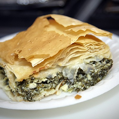 The Food of St. Nicholas Greek Fest