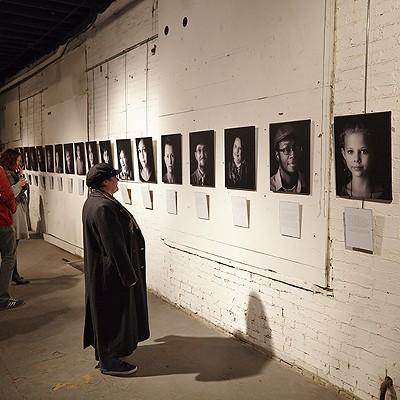 Transcending the Spectrum Art Show at Koken Art Factory