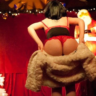 """Tits the Season"" Burlesque at the Crack Fox (NSFW)"