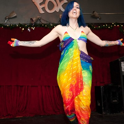 Fetishstivus at the Crack Fox, 2013