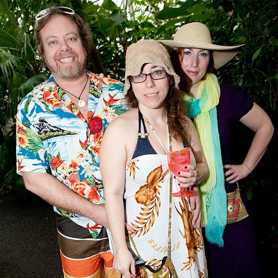 Beach Party at the MoBot Climatron