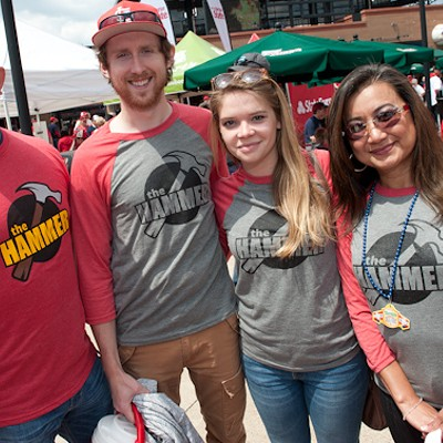 Busch Stadium Hosts Nathan's Famous Hot Dog-Eating Contest