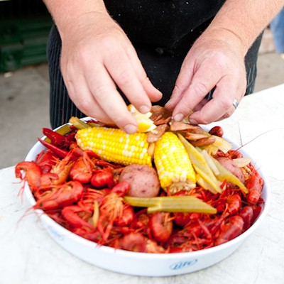 Crawfish Festival at Broadway Oyster Bar