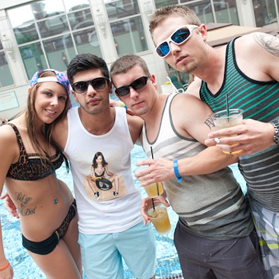 "The Pool Party People of ""Rehydrate"""