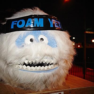Electric Flurry Shoots Foam, Not Fireworks