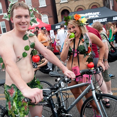 The Nicest Naughty Bits at the 2014 World Naked Bike Ride (NSFW)