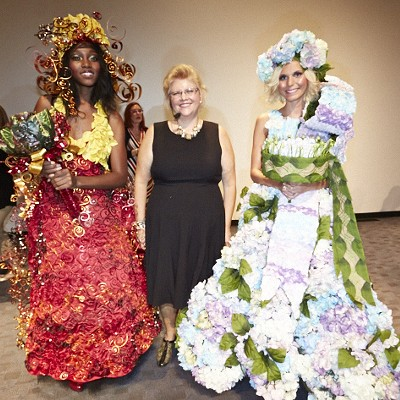 Flower-Powered Fashion at Missouri Botanical Garden