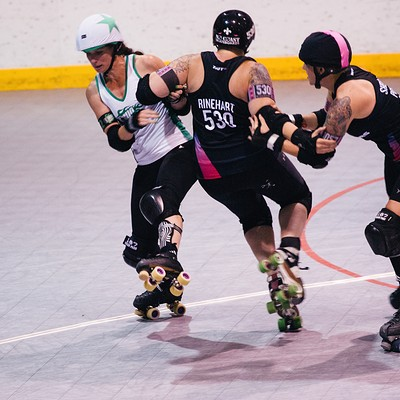 Arch Rival Roller Girls Rumble in Queeny Park